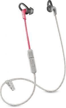 Беспроводная гарнитура Plantronics BackBeat Fit 305 серый / розовый