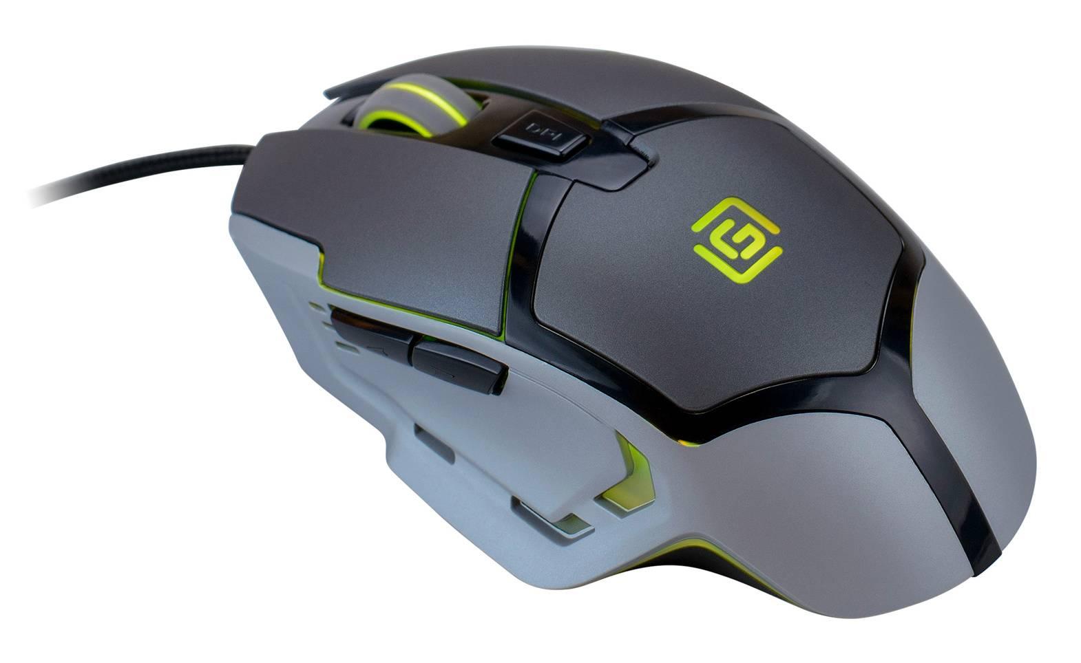 Мышь Oklick 915G HELLWISH V2 черный/серебристый - фото 14