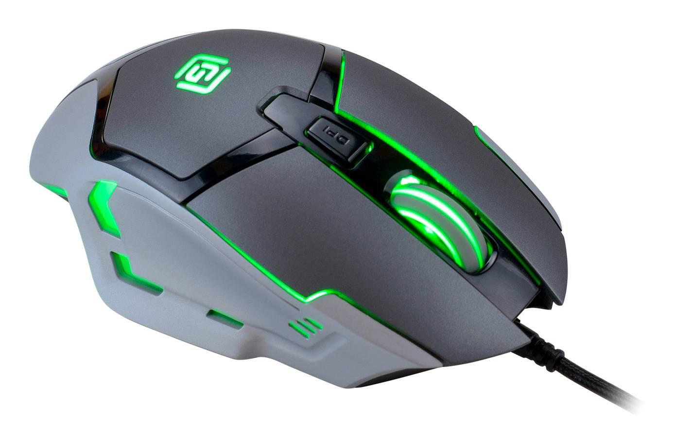 Мышь Oklick 915G HELLWISH V2 черный/серебристый - фото 15