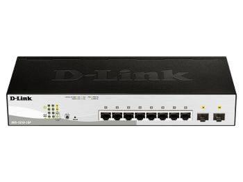 Коммутатор настраиваемый D-Link DGS-1210-10P/F1A