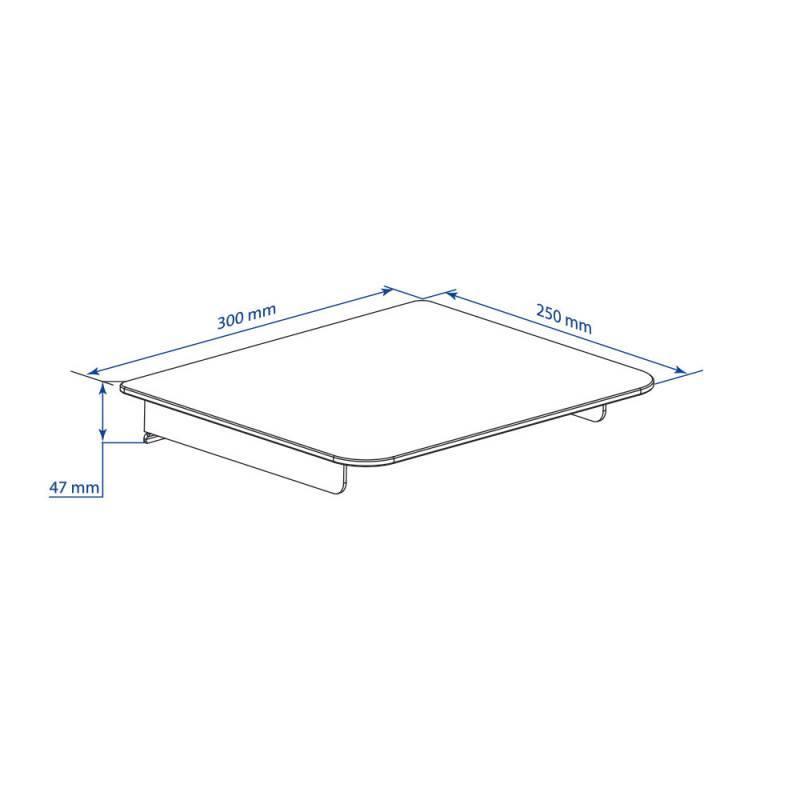 Кронштейн-подставка для DVD и AV систем Kromax MINI-MONO черный (26018) - фото 3