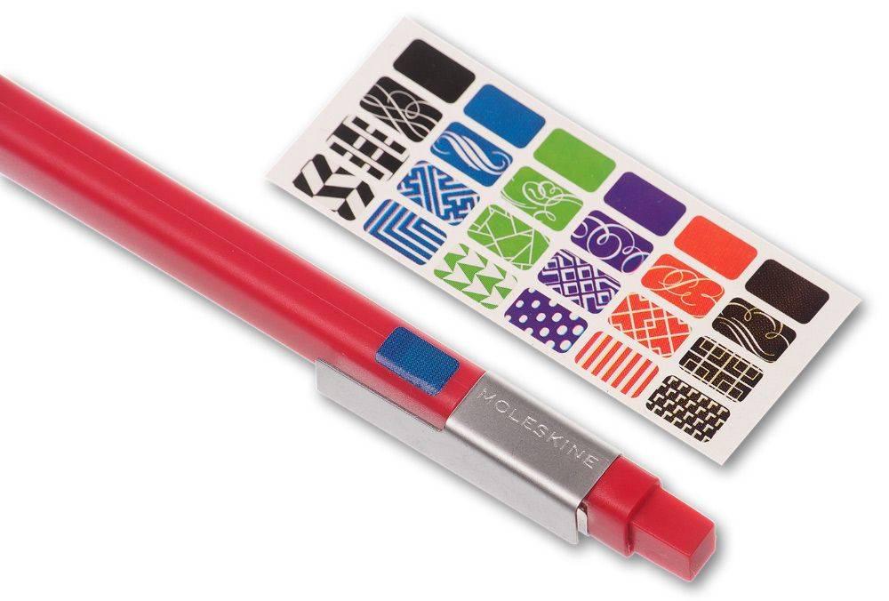 Ручка шариковая Moleskine CLASSIC CLICK красный (EW61CF910) - фото 3