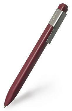 Ручка шариковая Moleskine Classic Click бордовый (EW41BF710)