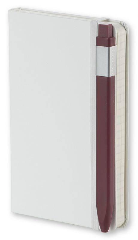 Ручка шариковая Moleskine Classic Click бордовый (EW41BF710) - фото 5