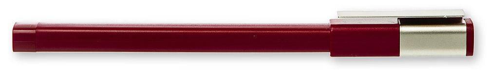 Ручка-роллер Moleskine CLASSIC PLUS бордовый (EW51RF707) - фото 2