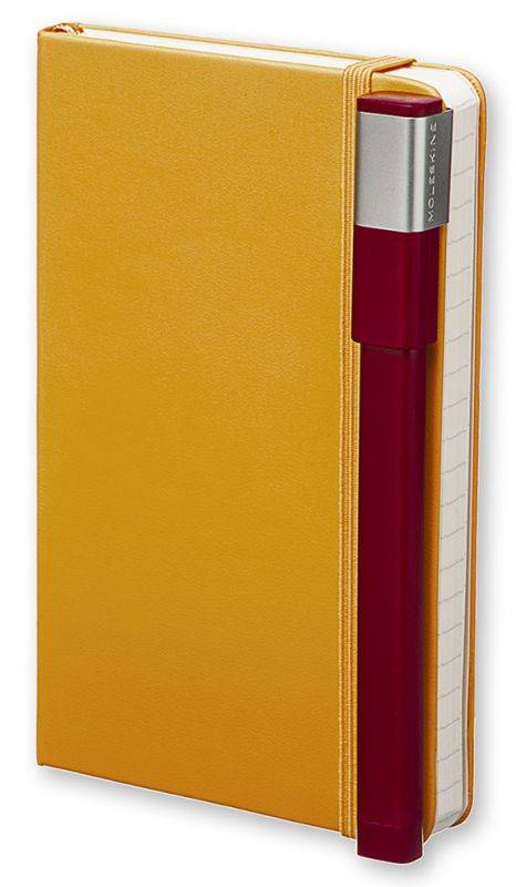 Ручка-роллер Moleskine CLASSIC PLUS бордовый (EW51RF707) - фото 6
