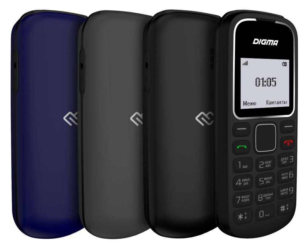Мобильный телефон Digma A105 2G Linx черный (LT1035PM) - фото 6