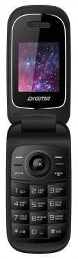 Мобильный телефон Digma A205 2G Linx черный (LT1036PM)