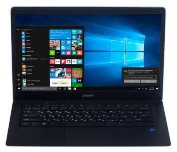 """Ноутбук 14.1"""" Digma EVE 1402 черный/серебристый"""