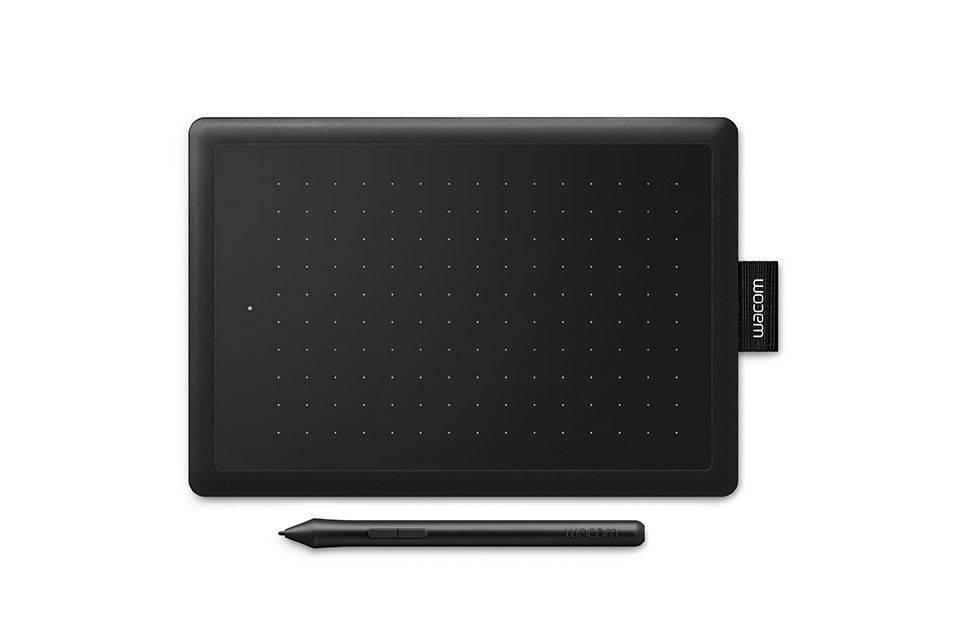 Графический планшет Wacom One CTL-472 черный/красный (CTL-472-N) - фото 2