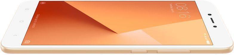 Смартфон Xiaomi Redmi Note 5A 16ГБ золотистый - фото 8