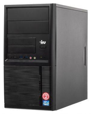 Системный блок IRU Office 110 черный
