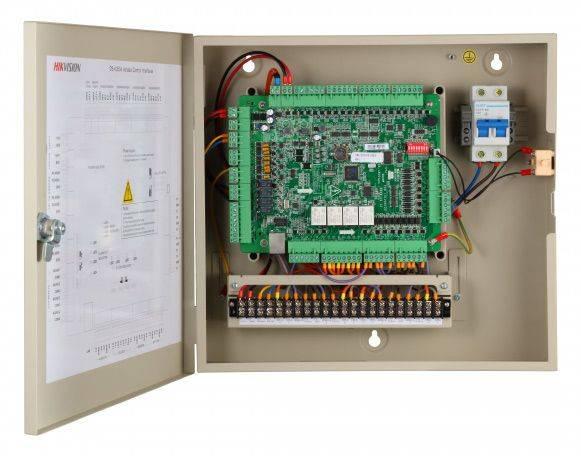 Контроллер автономный Hikvision DS-K2604 - фото 4
