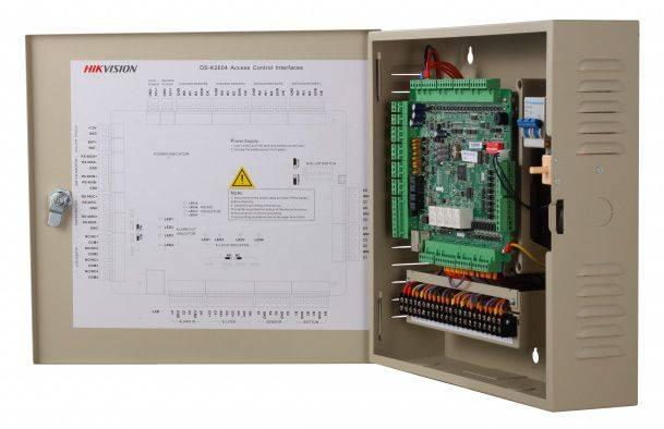 Контроллер автономный Hikvision DS-K2604 - фото 5
