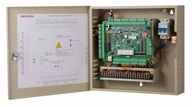 Контроллер автономный Hikvision DS-K2604 - фото 6