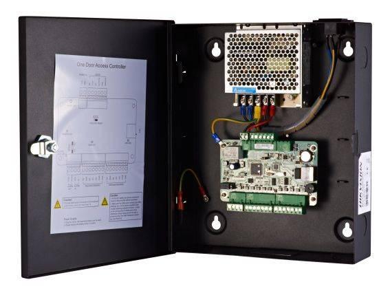 Контроллер сетевой Hikvision DS-K2801 - фото 4