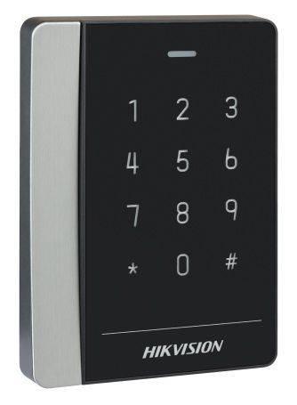 Считыватель карт Hikvision DS-K1102EK уличный - фото 1