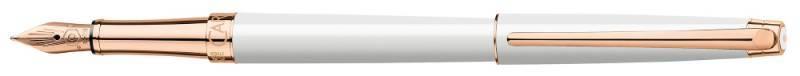 Ручка перьевая Carandache Leman Slim White PL Rosegold (4791.991) - фото 1