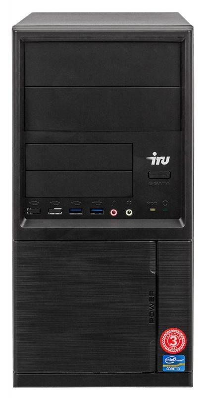Системный блок IRU Office 313 черный (1005802) - фото 5