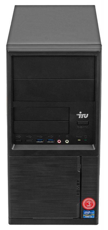Системный блок IRU Office 313 черный (1005802) - фото 6
