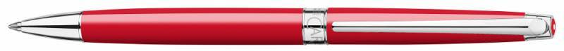 Ручка шариковая Carandache Leman Slim Scarlet red RH (4781.770) - фото 1