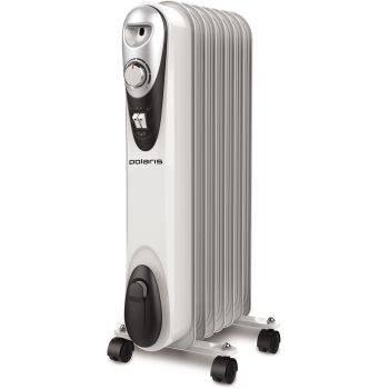 Масляный радиатор Polaris Compact CR C 0715 белый/черный