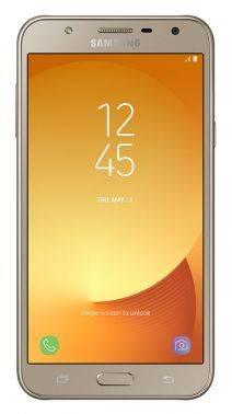 Смартфон Samsung SM-J701 Galaxy J7 Neo золотистый, встроенная память 16Gb, дисплей 5.5 1280x720, Android 7.0, камера 13Mpix, поддержка 3G, 4G, 2Sim, 802.11bgn, BT, GPS, microSD до 256Gb (SM-J701FZDDSER)