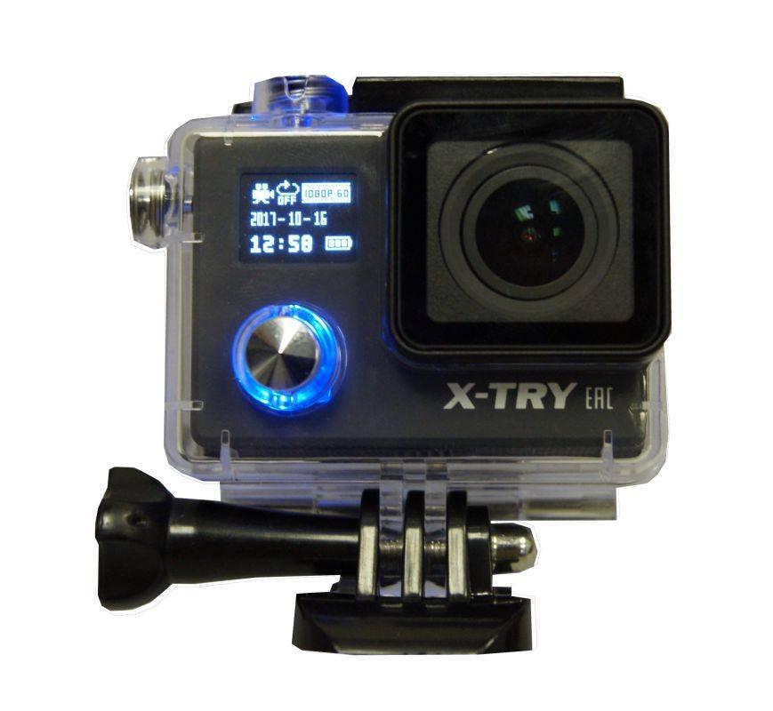 Экшн-камера X-Try XTC243 черный (XTC243 SB) - фото 2