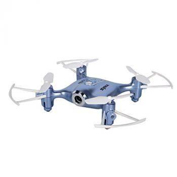 Квадрокоптер SYMA X21W синий