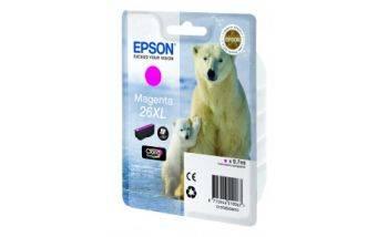Картридж Epson T2633 пурпурный (C13T26334012)