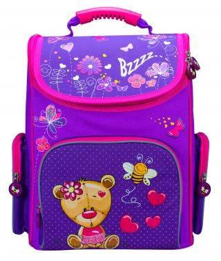 Ранец Silwerhof Bear фиолетовый/малиновый (830804)