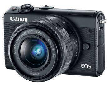 Фотоаппарат Canon EOS M100 kit черный (2209C012)