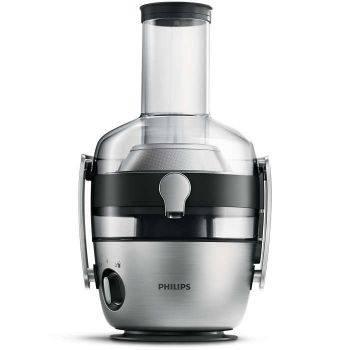 Соковыжималка центробежная Philips HR1922 / 20 серебристый / черный