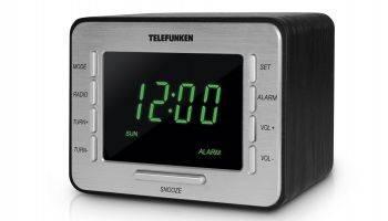 Радиоприемник Telefunken TF-1508 черный/серебристый (TF-1508(ЧЕРНЫЙ C ЗЕЛЕНЫМ))