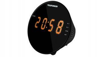 Радиоприемник Telefunken TF-1572 черный (TF-1572(ЧЕРНЫЙ С ЯНТАРНЫМ))