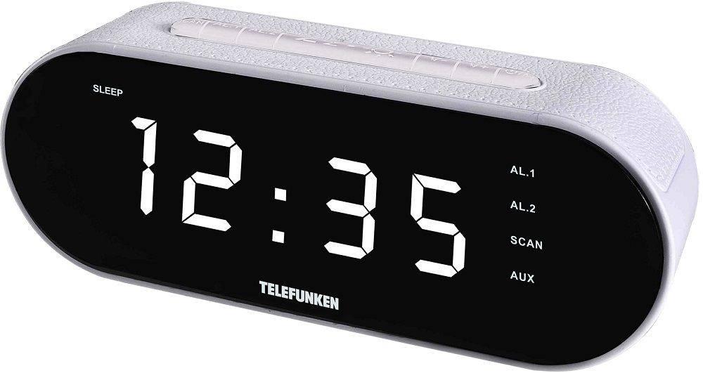 Радиоприемник Telefunken TF-1573 белый (TF-1573(БЕЛЫЙ С БЕЛЫМ)) - фото 1