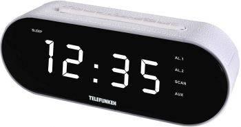 Радиоприемник Telefunken TF-1573 белый (TF-1573(БЕЛЫЙ С БЕЛЫМ))