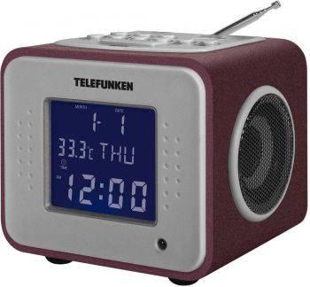 Радиоприемник Telefunken TF-1575 бордовый (TF-1575U(БОРДОВЫЙ С ФИОЛ)