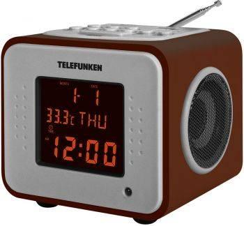 Радиоприемник Telefunken TF-1575 дерево темное (TF-1575U(ТЕМНЮ ДЕРЕВО)