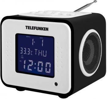 Радиоприемник Telefunken TF-1575 черное дерево