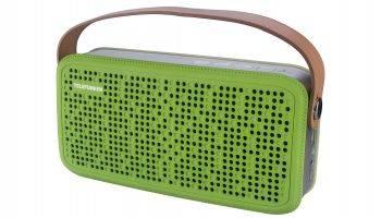 Магнитола Telefunken TF-PS1230B зеленый / коричневый