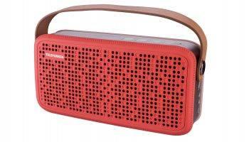 Колонка портативная Telefunken TF-PS1230B красный/коричневый (TF-PS1230B(КРАСНЫЙ))
