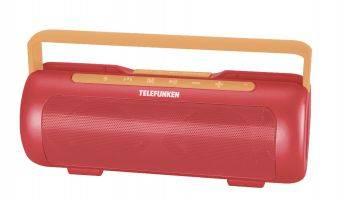 Колонка портативная Telefunken TF-PS1231B красный/оранжевый (TF-PS1231B(КОРАЛЛОВО КРАСНЫЙ))