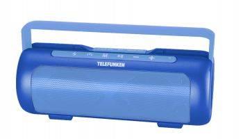 Колонка портативная Telefunken TF-PS1231B синий (TF-PS1231B(СИНИЙ))