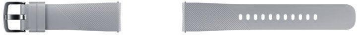 Ремешок Samsung Galaxy Gear Sport ET-YSN60MJEGRU серый - фото 1