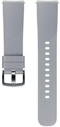 Ремешок Samsung Galaxy Gear Sport ET-YSN60MJEGRU серый - фото 2