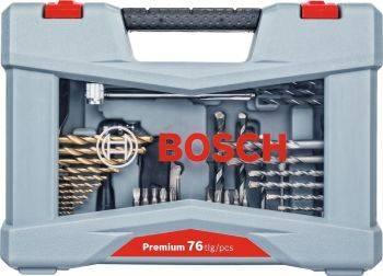 Набор бит Bosch Premium Set-76 (76пред.) для шуруповертов (2608P00234)