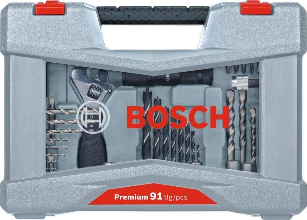 Набор бит Bosch Premium Set-91 (91пред.) для шуруповертов (2608P00235) - фото 2