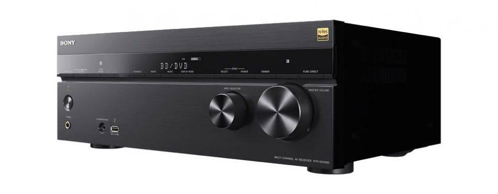 Ресивер AV Sony STR-DN1080 7.2 черный (STRDN1080.CEL) - фото 1