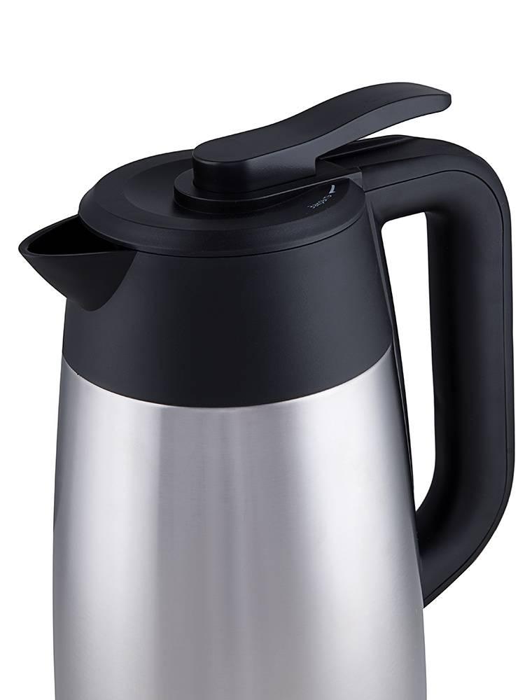 Чайник электрический Kitfort КТ-620-2 серебристый/черный - фото 4